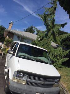 1997  white Astro van