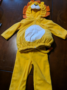 12 month lion costume