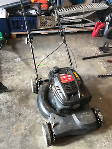 21in YardMachines Self Propelled Lawn Mower