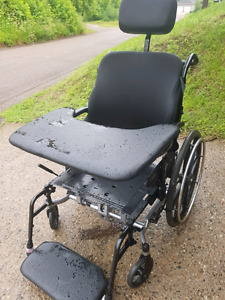 Reclining wheelchair and Walker