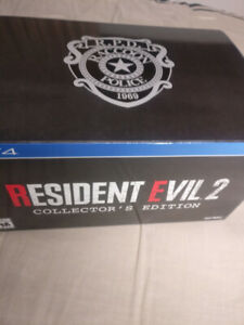 Resident Evil 2 Collector's Edition - W/O Game and Statue - PS4