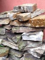 Pierres à muret et pierres à sentier