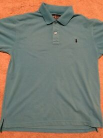 Ralph Lauren blue & black polo shirt