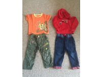 Boys clothes bundle 2-3 years.£10