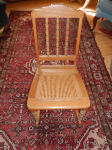 Antique Maple Child's Rocking Chair - Excellent Condition