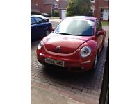 VW Beetle Luna 1.6 Petrol '08 Needs to go ASAP!