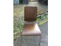 Free four brown chairs
