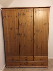 Wardrobes & chest of draws