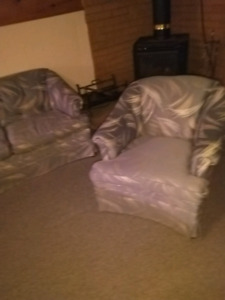 Chesterfield and Chair