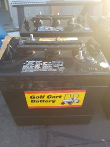 6 - 6 Volt Golf Cart Batteries, Like New