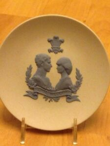 Prince Charles and lady Diana wedding plate .$20 obo