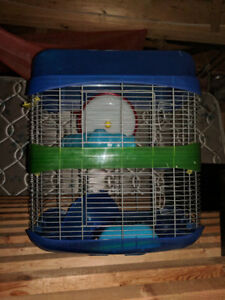 Hamster Cage with two levels