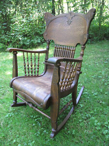 Antique, Victorian Rocking chair. Gorgeous and mint!