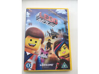 New unwatched Lego movie dvd