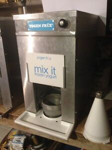 YOGURT MACHINE –  RESFAB / YOGEN FRUZ  FLAVOR MACHINE