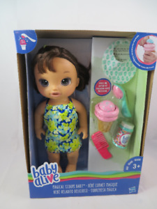 New Baby Alive Doll Magical Scoops Food
