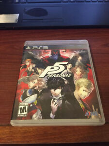 PS3 Games, for sale, Final Fantasy 13 collection, Persona 5, etc