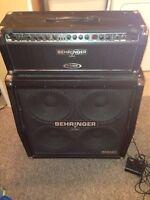 Behringer amps
