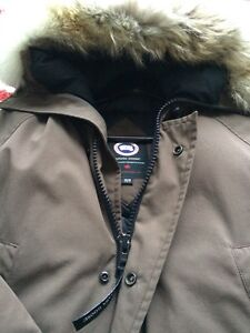 Men Brown Canada Goose brun manteau H, XS