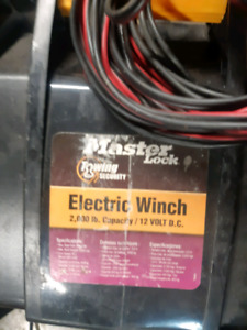 12v  hitch winch