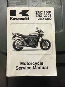Kawasaki ZRX 1200 Service manual