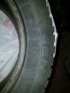 Used Winter Tires 205/55/R16