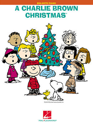 Big Note Piano Songbook (A Charlie Brown Christmas - Big Note Piano Songbook)