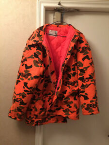 Men's hunting jacket large