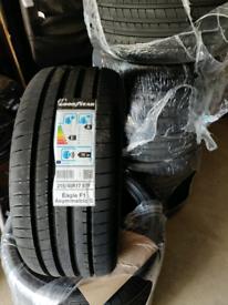 4x BRAND NEW 215/40 R17 Goodyear Tires, used for sale  Ingleby Barwick, County Durham
