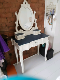 Dunelm Toulouse Dressing Table/mirror/stool