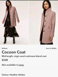 ARITZIA WILFRED COCOON COAT - NWT