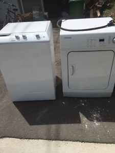 Portable washer. With dryer