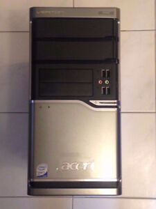 Acer tower with 64-bit Windows 7 Professional