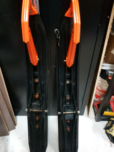Selling arctic cat pro climb skis and front end