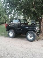 1953 Willys cj5 v8 with ownership
