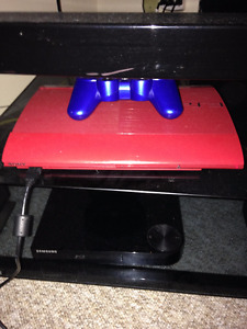 PS3 3rd Generation 500GB Red