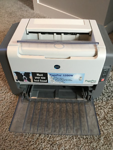 Konica Minolta Black and White Laser Printer