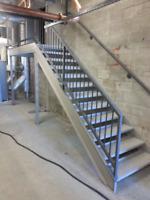 soudure,reparation,escalier,rampe fer forge