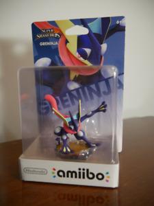 Greninja Amiibo 3DSXL, Nintendo Switch, WiiU