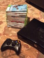 Great condition XBox 360 with 12 games!