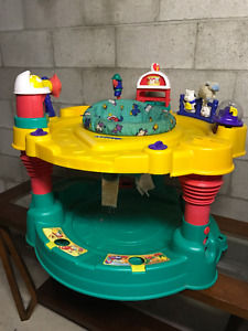 EXERSAUCER AND JUMPER