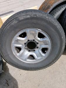 Factory Ram2500/3500 wheels and tires