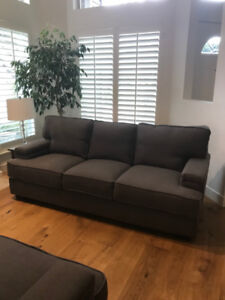 Brand NEW Sophisticated Sofa and Love Seat - Classic Grey