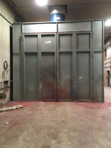 Paint Booth by Engineered Air