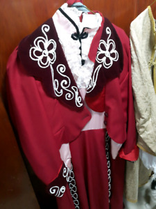 Loads of costumes for sale.