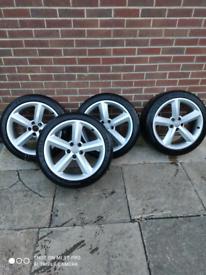 Tyres + Alloys