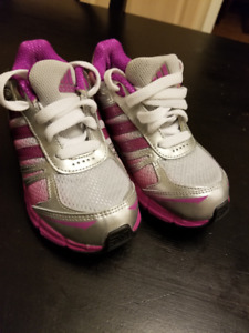Girls Adidas Running shoes Size 11