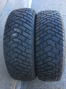 2 PNEUS HIVER / 2 WINTER TIRES 185/65/14 GOODYEAR ULTRAGRIP