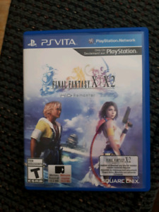 PS VITA FINAL FANTASY X/X-2 W/DLC