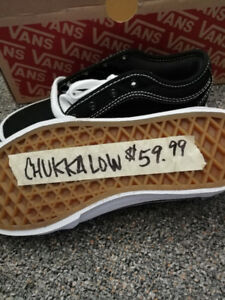 Vans new size 1 youth shoes